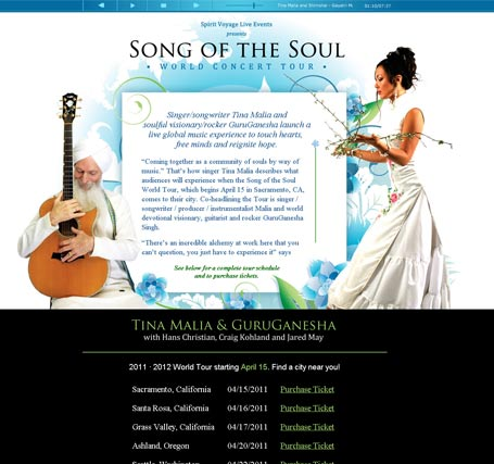 Song of the Soul Tour